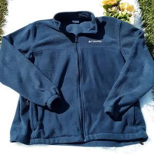Columbia Fleece Full Zip Jacket Men's Sz. 2XL